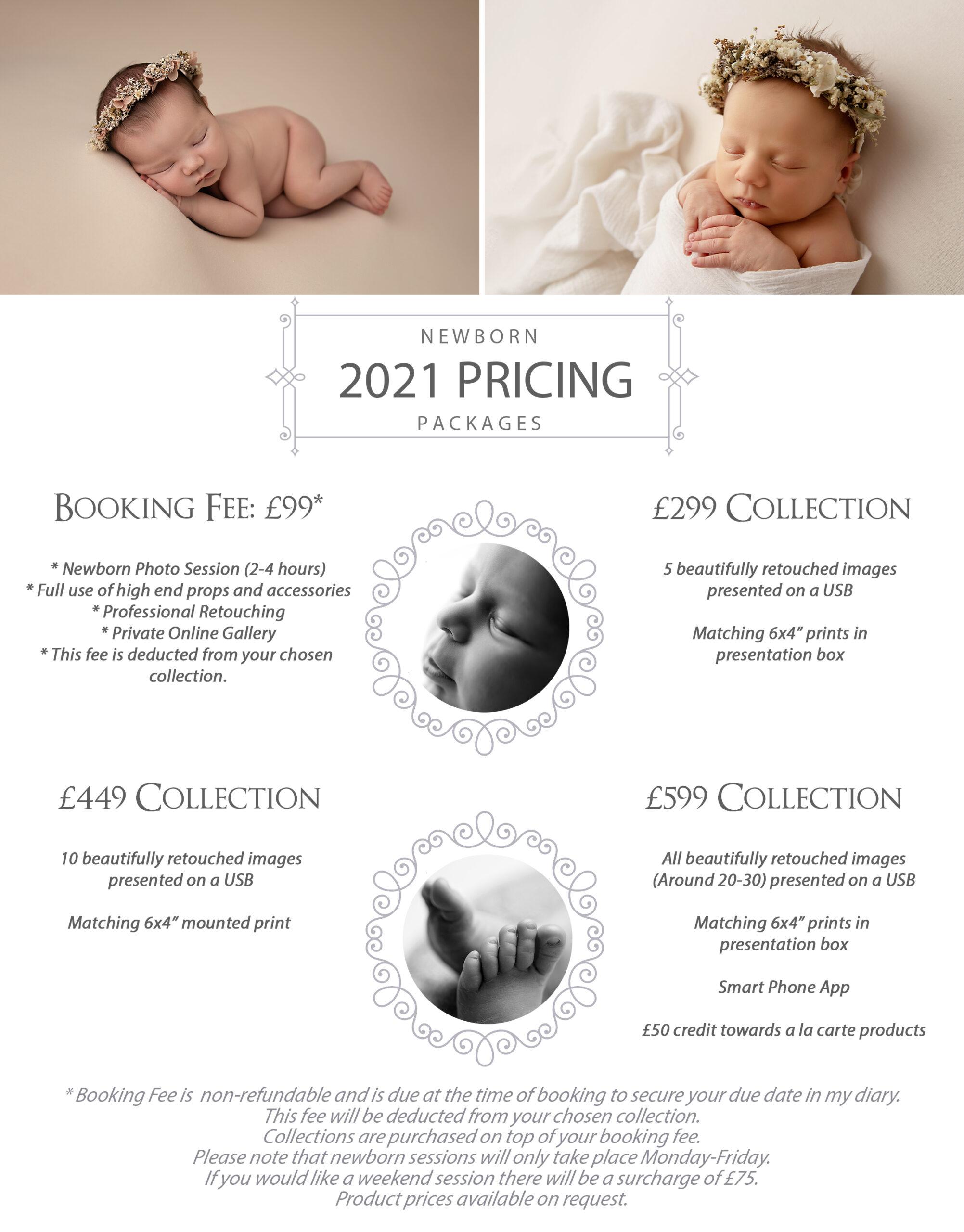 Nikita Jay Photography Essex Newborn Photography Pricing